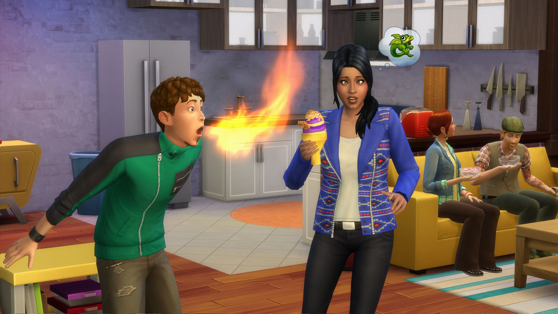 How To Put Candles In A Cake Sims